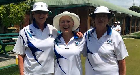 Jan 2018 Women's Championship Triples results