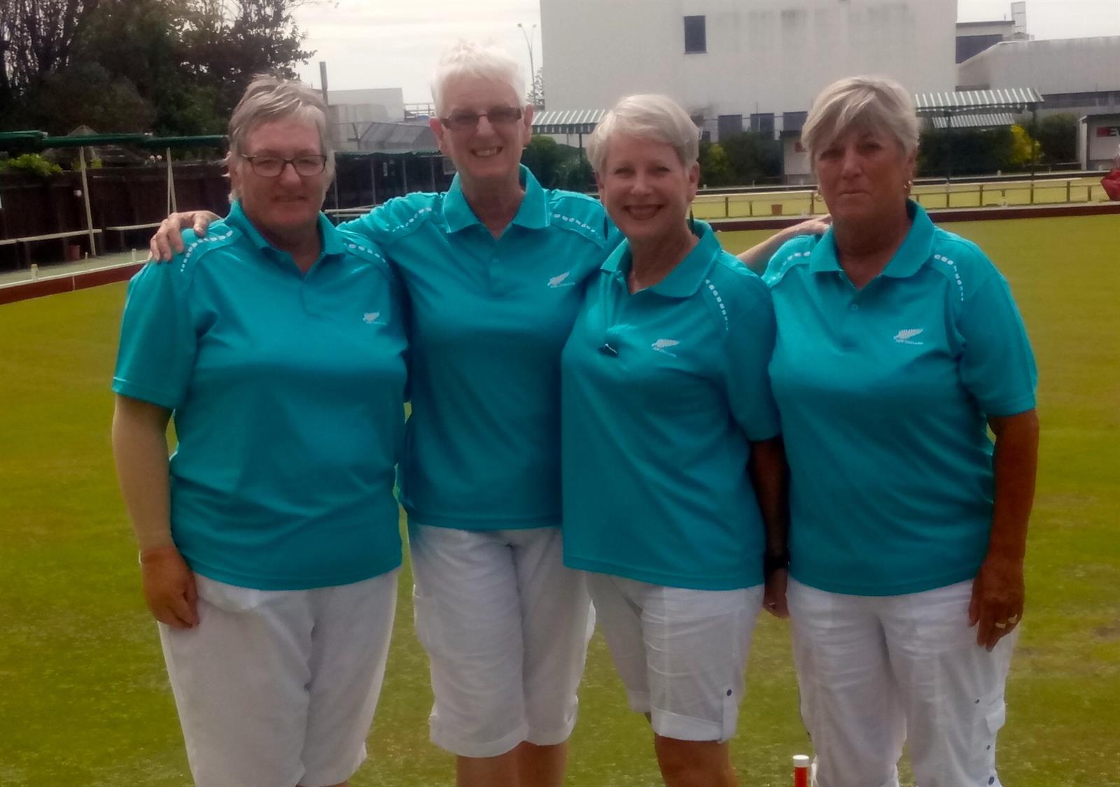 Tauranga Combined Clubs Women's Open Fours