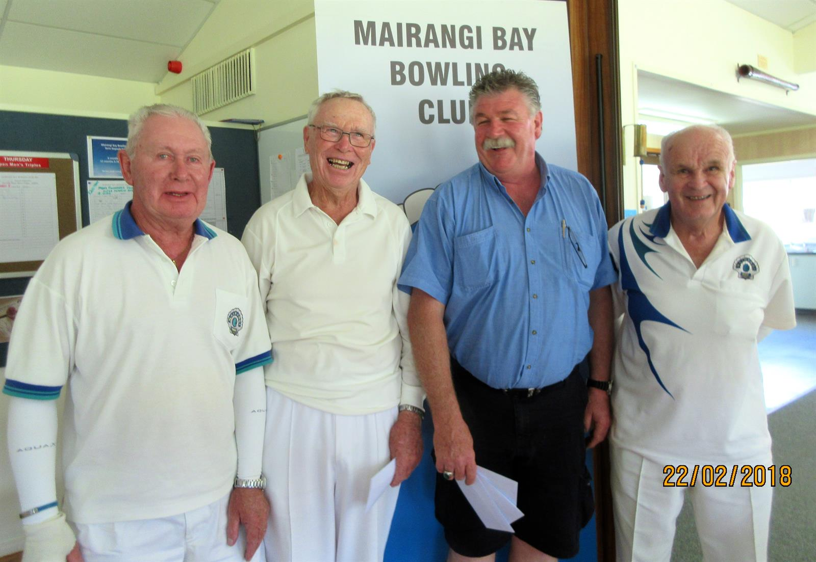 Open Triples Results – Thursday 22nd February 2018