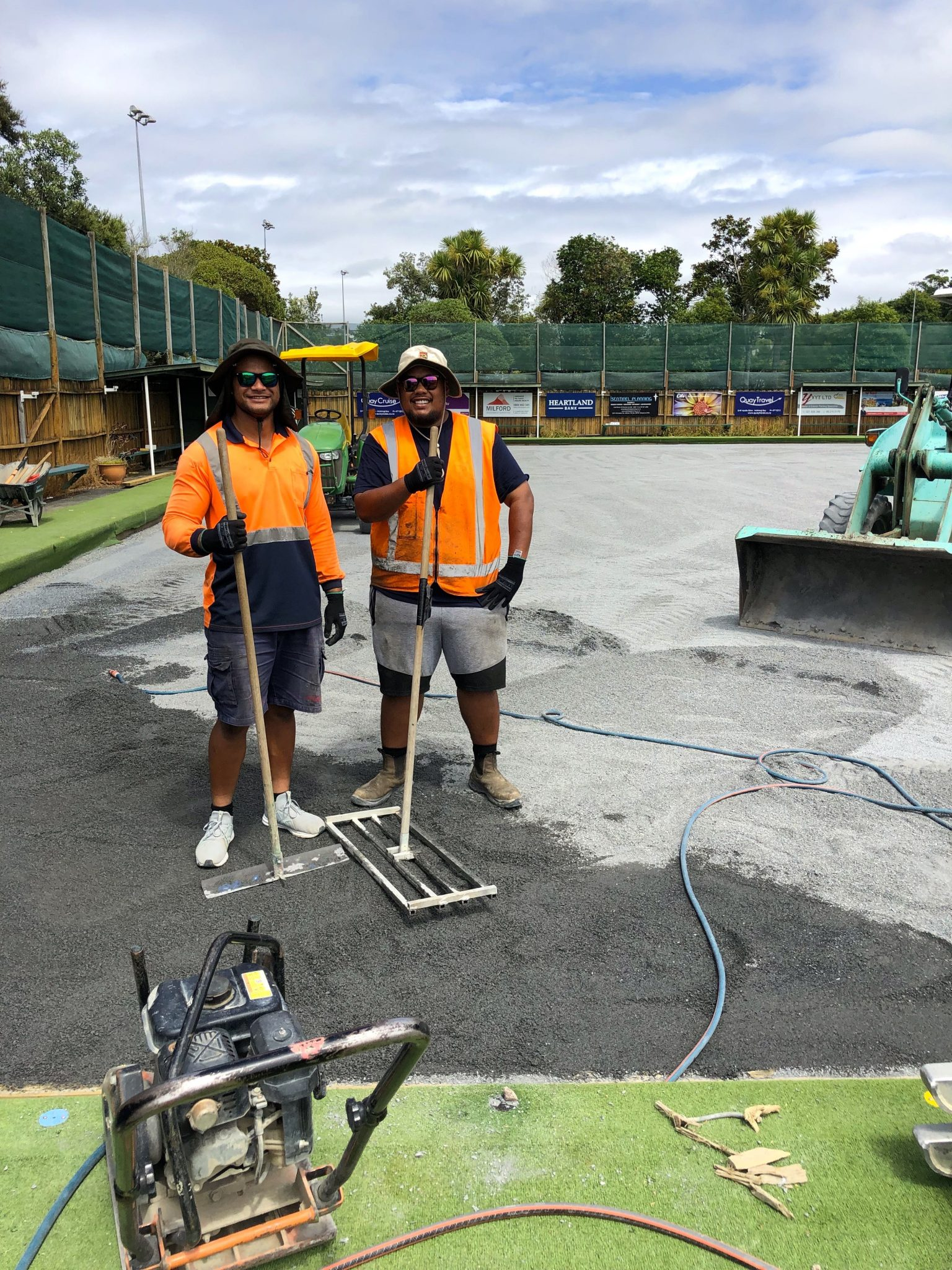 Carpet Green Replacement Project – Acknowledgements