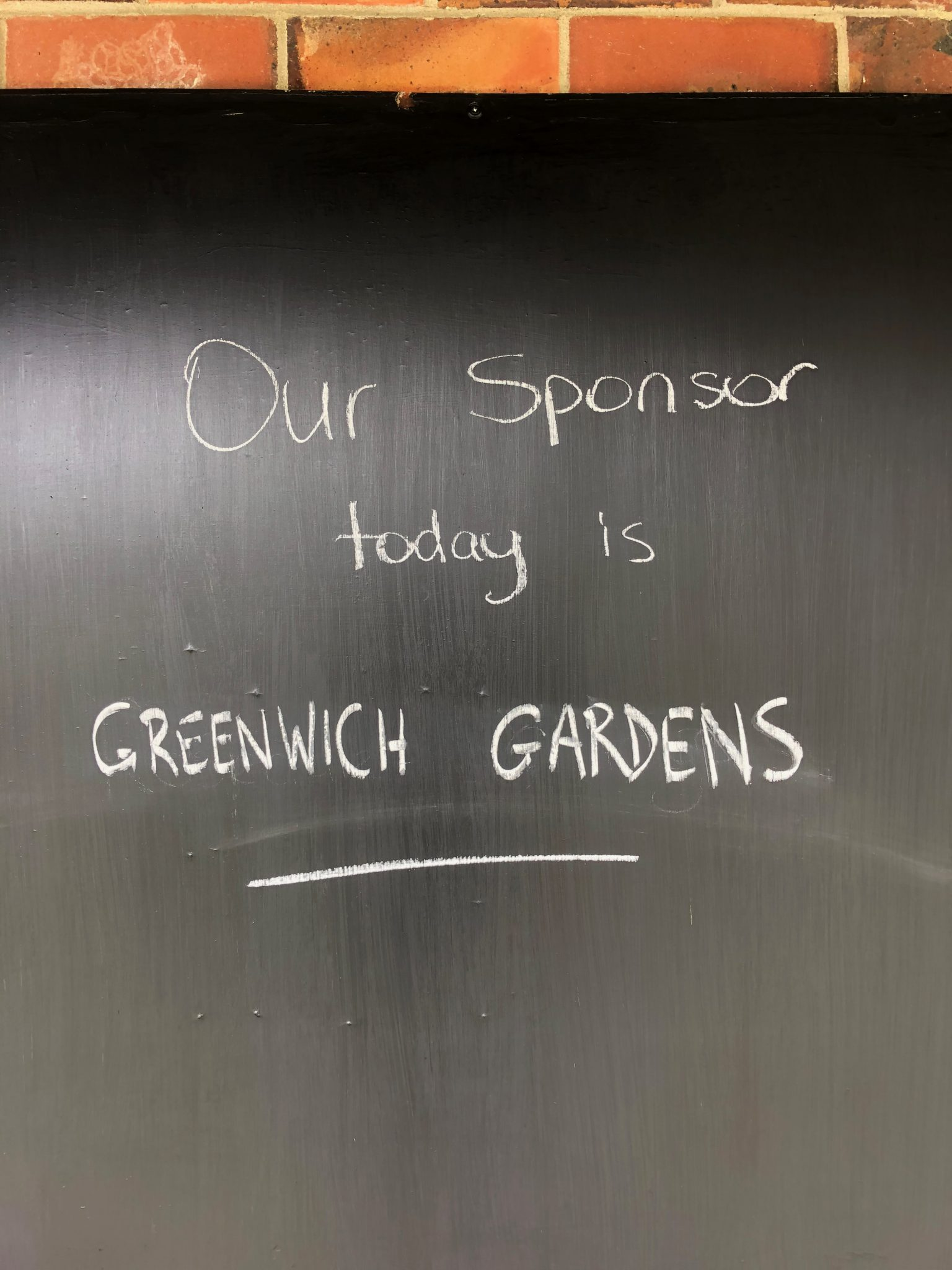 Greenwich Gardens Founders – Wed 10 & Thurs 11 March 2021